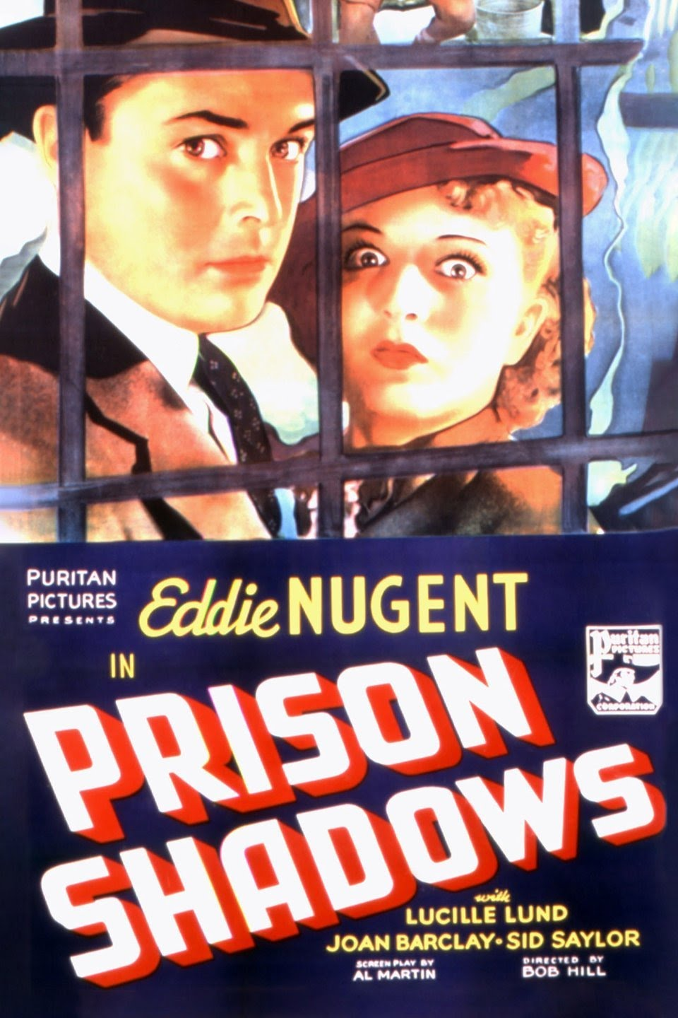 Lucille Lund and Edward J. Nugent in Prison Shadows (1936)