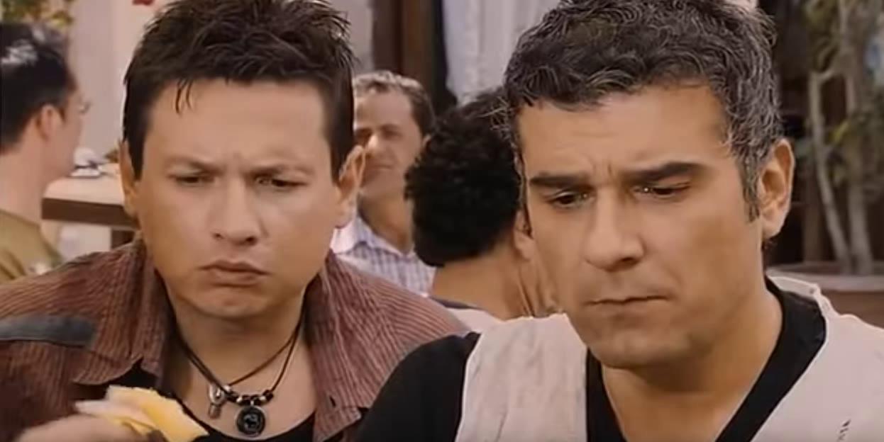 Stavros Nikolaidis and Kostas Apostolakis in I Love Karditsa (2010)