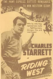 Riding West Poster