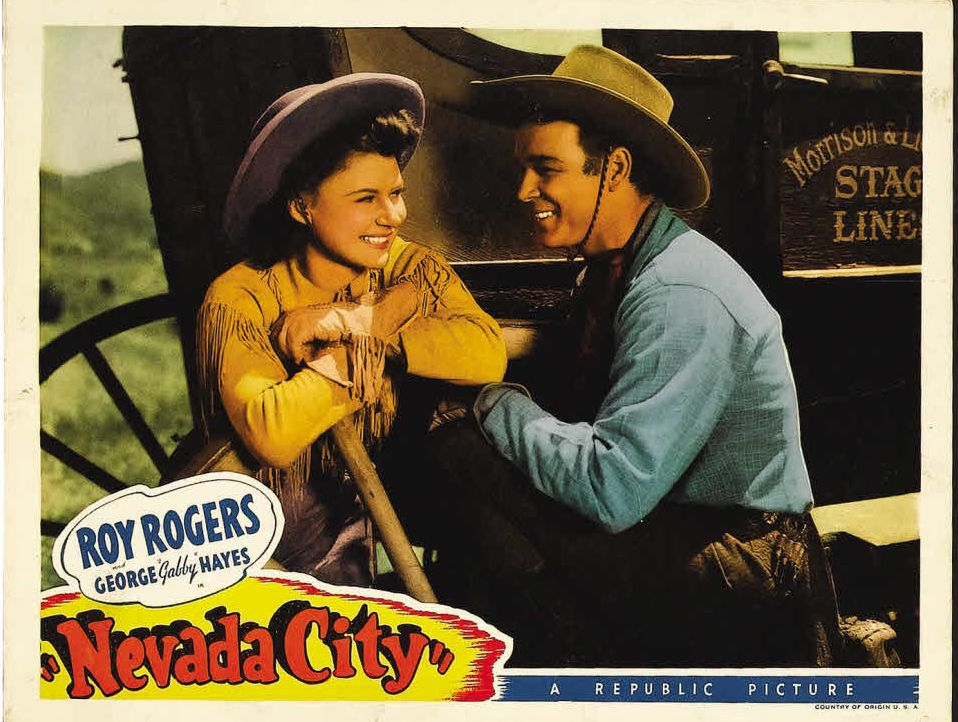 Roy Rogers and Sally Payne in Nevada City (1941)
