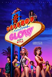 Alison Brie, Kia Stevens, Betty Gilpin, Britney Young, and Gayle Rankin in GLOW (2017)