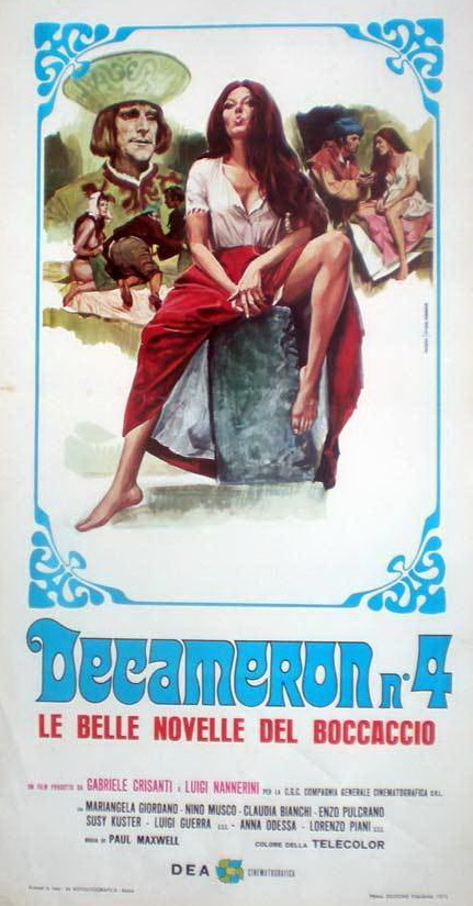Decameron n° 4 - Le belle novelle del Boccaccio (1972)