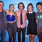 Joshua Malina, Ryan Malgarini, Osric Chau, Jessica Lu, and Haley Lu Richardson in The Young Kieslowski (2014)