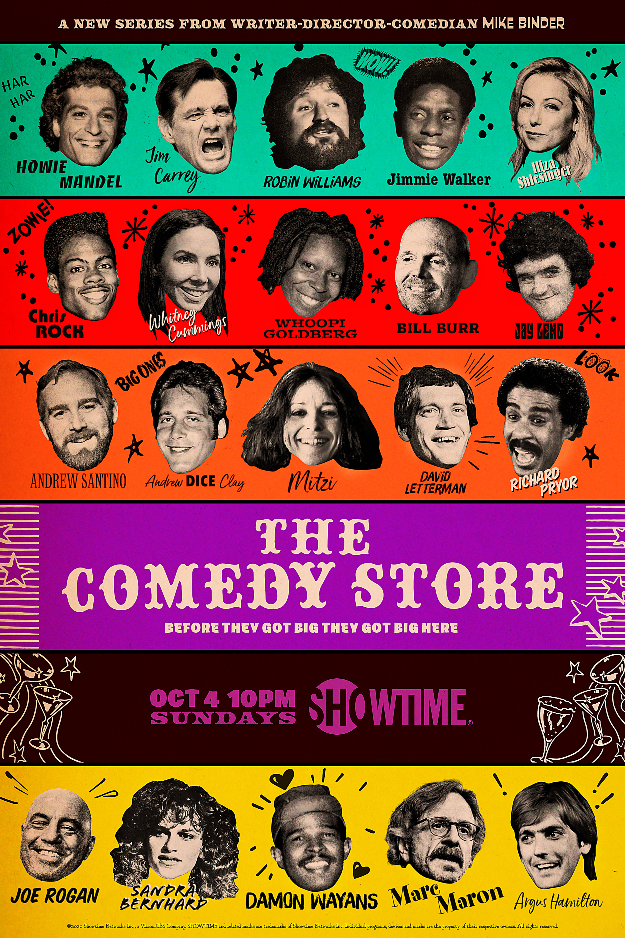 The Comedy Store (TV Mini-Series 2020– ) - IMDb