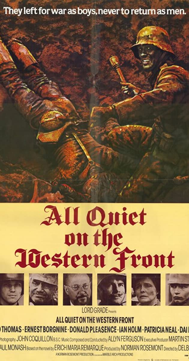 watch all quiet on the western front online free