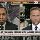Max Kellerman and Stephen A. Smith in ESPN First Take (2007)