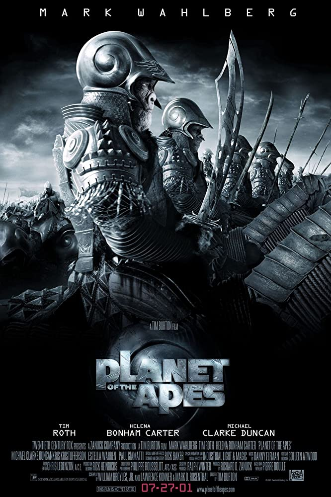 Planet Of The Apes 2001 Dual Audio Hindi 300MB BluRay