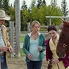 Shaun Johnston, Amber Marshall, and Alisha Newton in Heartland (2007)