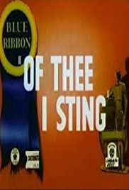 Of Thee I Sting Poster