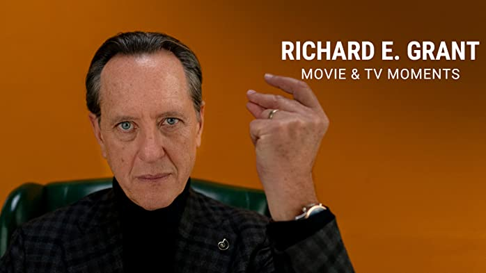 Take a look at the various roles Richard E. Grant has played throughout his acting career.