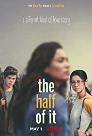 Leah Lewis, Daniel Diemer, and Alexxis Lemire in The Half of It (2020)
