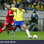Rivaldo and Umit Davala in 2002 FIFA World Cup (2002)