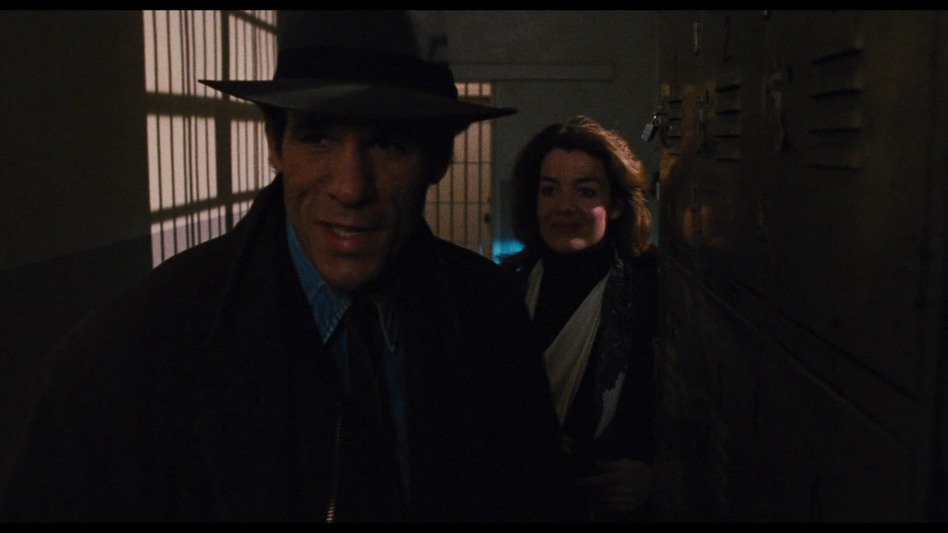 Robert Davi and Claudia Christian in Maniac Cop 2 (1990)