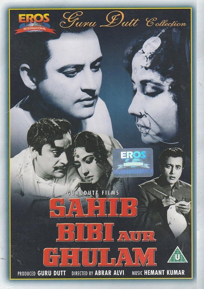 Image result for Sahib Bibi Aur Ghulam (1962)