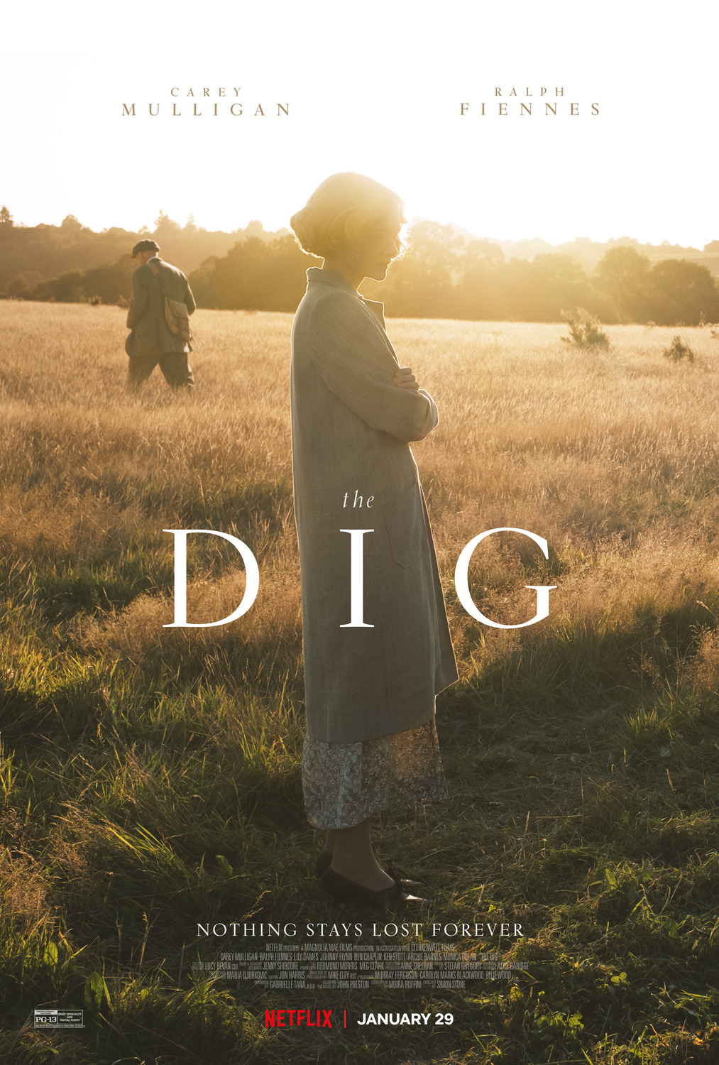 Image result for The Dig movie poster 2021