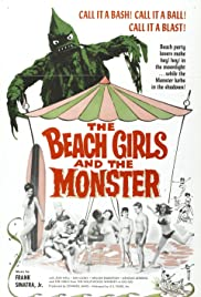 The Beach Girls and the Monster (1965) Poster - Movie Forum, Cast, Reviews