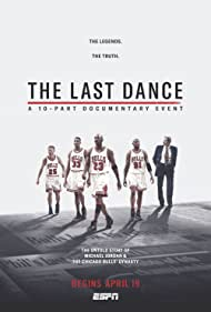 Michael Jordan, Dennis Rodman, Phil Jackson, Steve Kerr, and Scottie Pippen in The Last Dance (2020)
