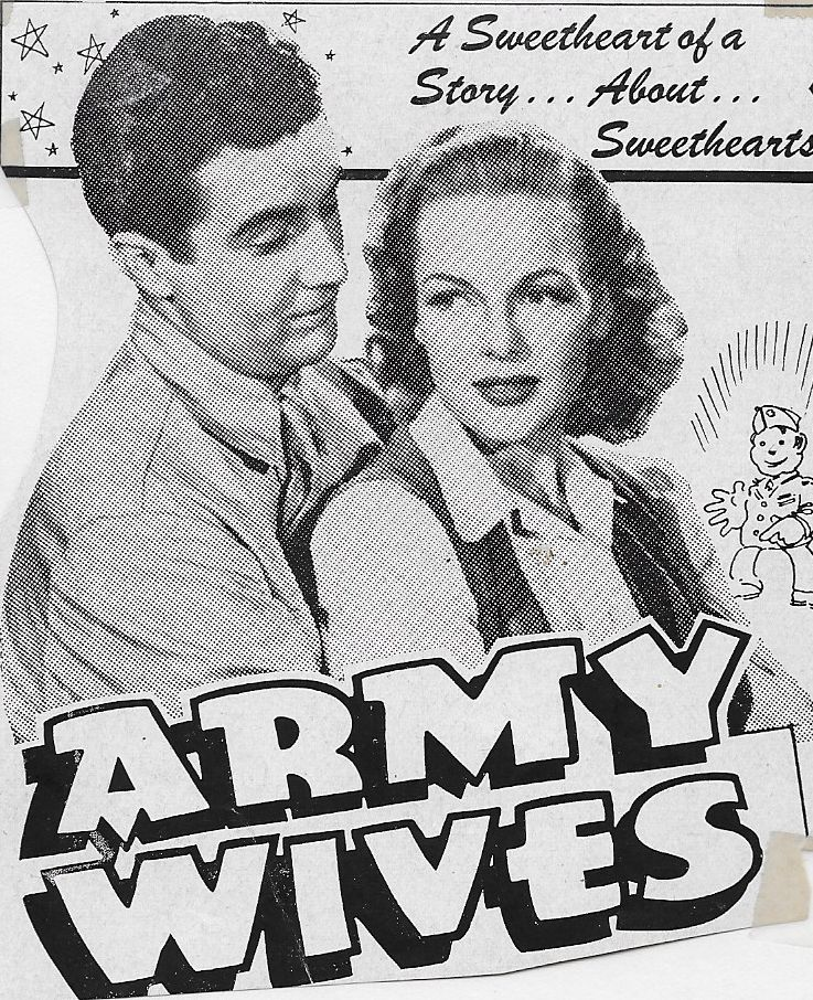 Elyse Knox and Rick Vallin in Army Wives (1944)