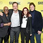 Priscilla Presley at an event for Elvis Presley: The Searcher (2018)