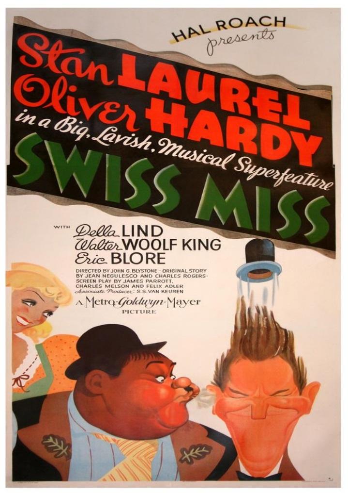 Swiss Miss (1938) DVDRip
