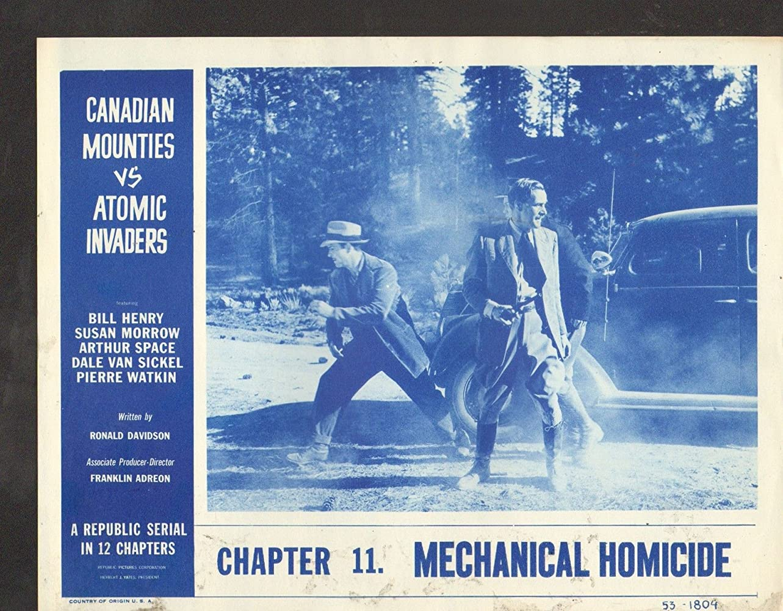 Arthur Space and Dale Van Sickel in Canadian Mounties vs. Atomic Invaders (1953)