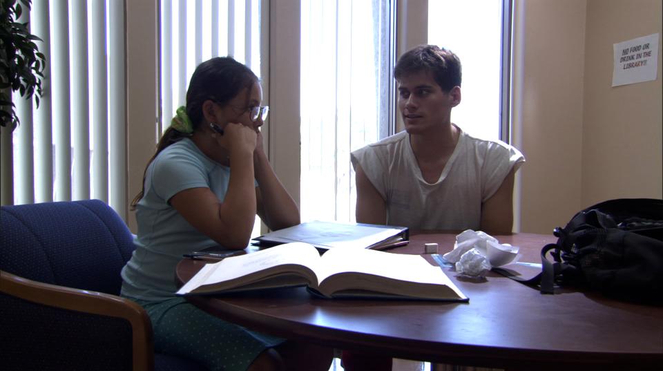 Philip Marlatt and Sarah Girling in First Period (2007)