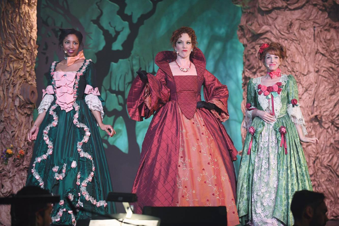 As Cinderella's Stepmother in Encore