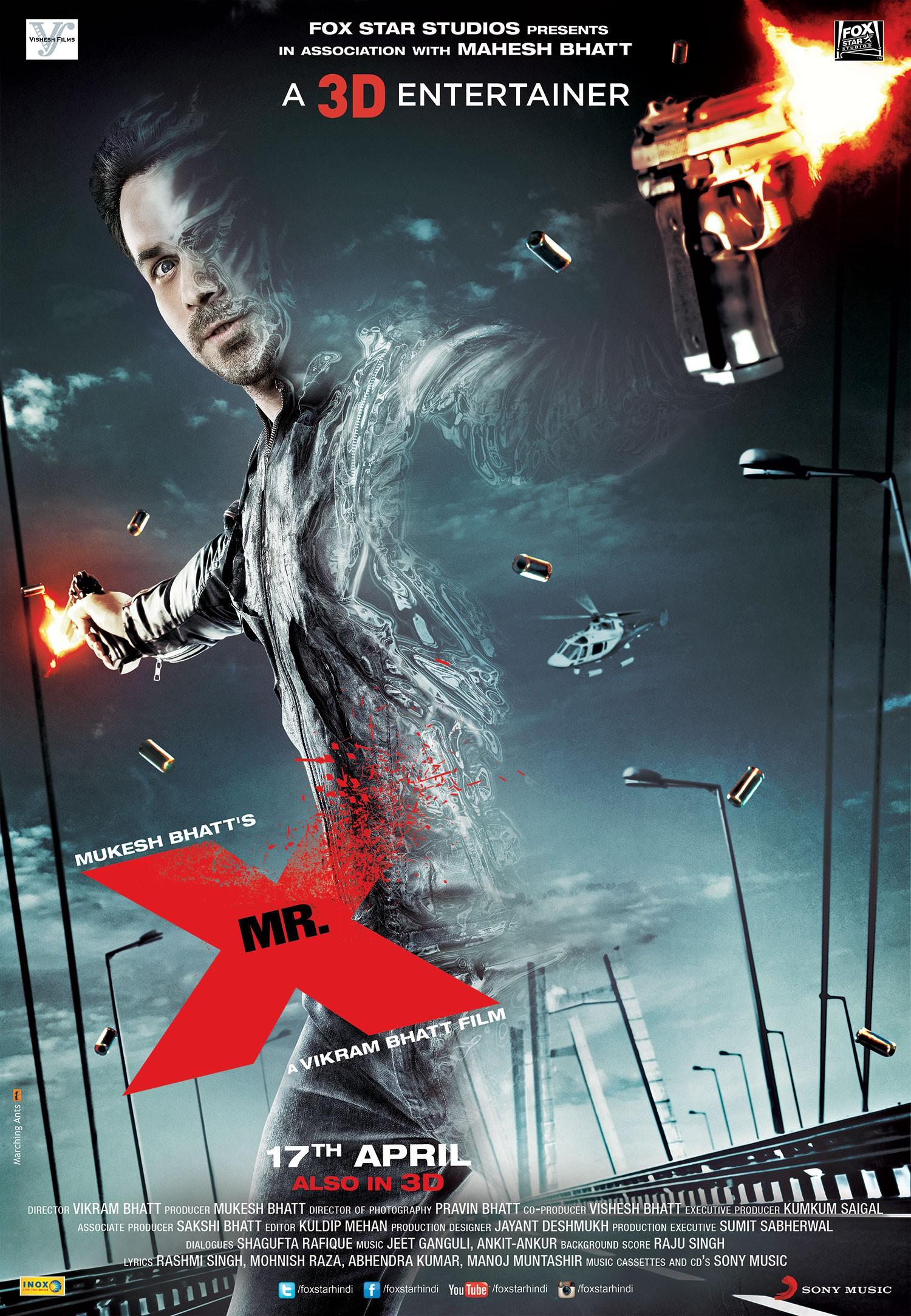 Mr. X (2015) Hindi 720p WEB-DL x265 AAC 750MB