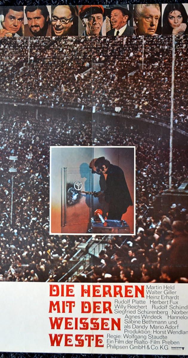 Die Herren Mit Der Weissen Weste 1970 Imdb