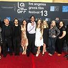 Koula Sossiadis Kazista, Katina Sossiadis, Burt Young, Jane Kelly Kosek, Caitlin Carmichael, Penny Edmiston, and Alexi Stavrou at an event for Epiphany (2019)