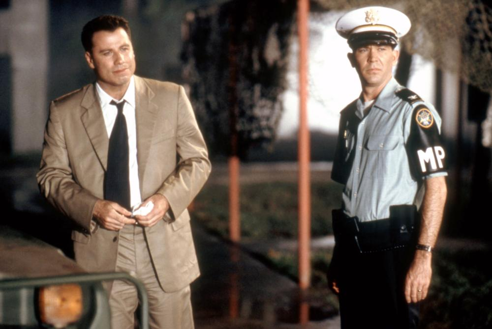 John Travolta and Timothy Hutton in The General's Daughter (1999)