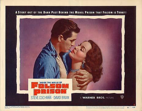Mari Aldon and Steve Cochran in Inside the Walls of Folsom Prison (1951)