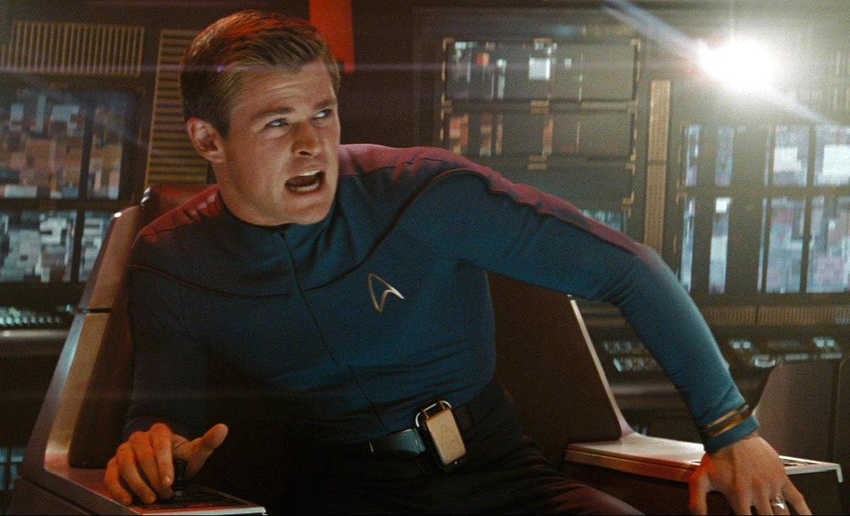 Chris Hemsworth in Star Trek 2009