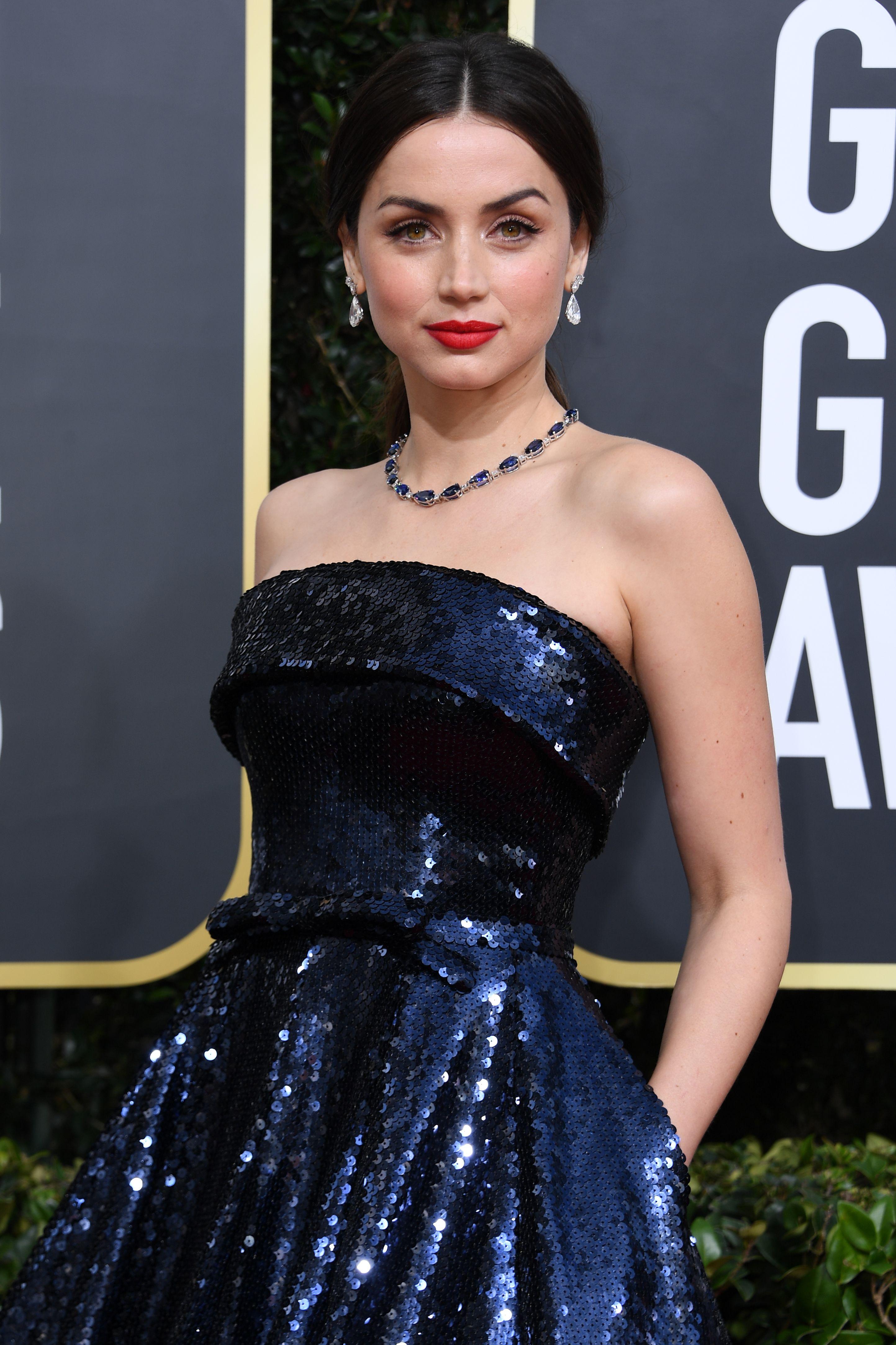 Ana de Armas at an event for 2020 Golden Globe Awards (2020)