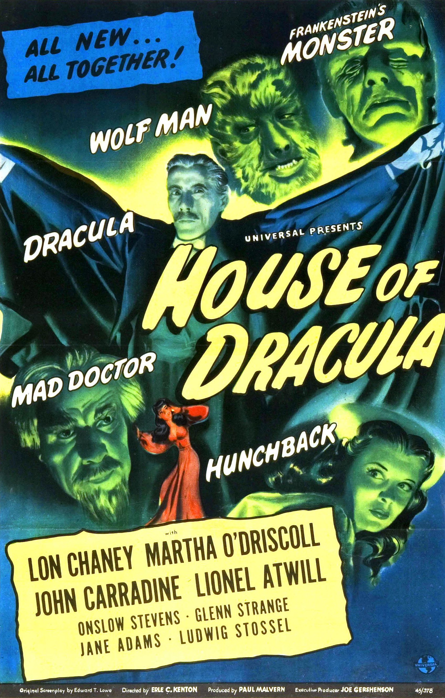 House of Dracula (1945) - IMDb