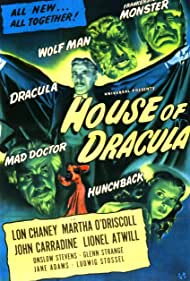 House of Dracula (1945) Poster - Movie Forum, Cast, Reviews