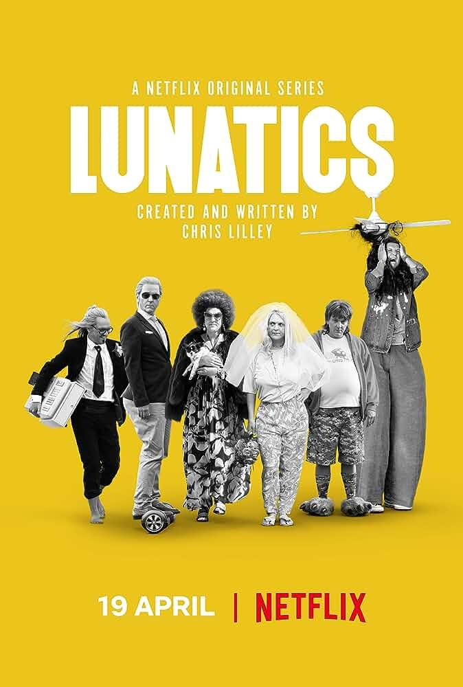 Lunatics (2019) Season 1 Complete 480p HEVC HDRip x265 ESubs [Dual Audio] [Hindi or English] [650MB]