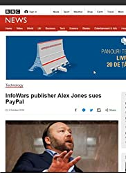 Alex Jones Sues PayPal Poster
