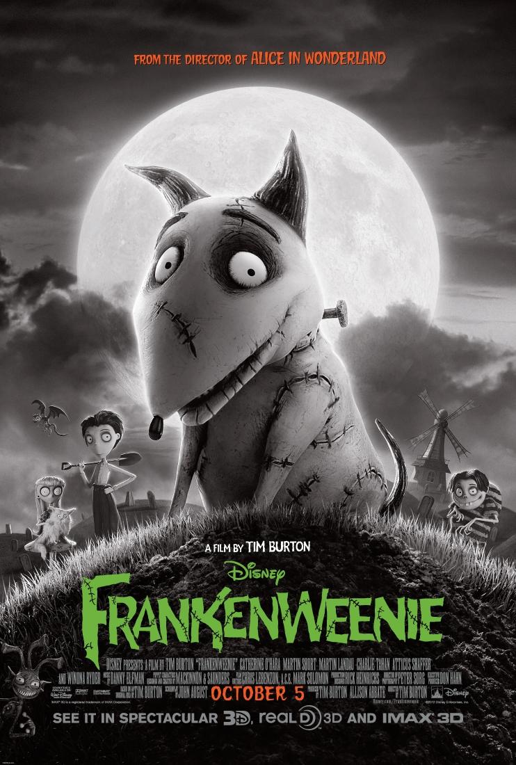 Frankenweenie (2012) BluRay 480p, 720p & 1080p