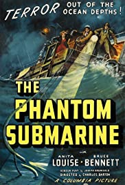 The Phantom Submarine Poster