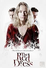 Callum Blue, Sean Maguire, and Rachel Skarsten in The Red Dress (2015)