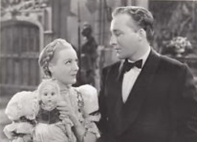 Bing Crosby and Franciska Gaal in Paris Honeymoon (1939)