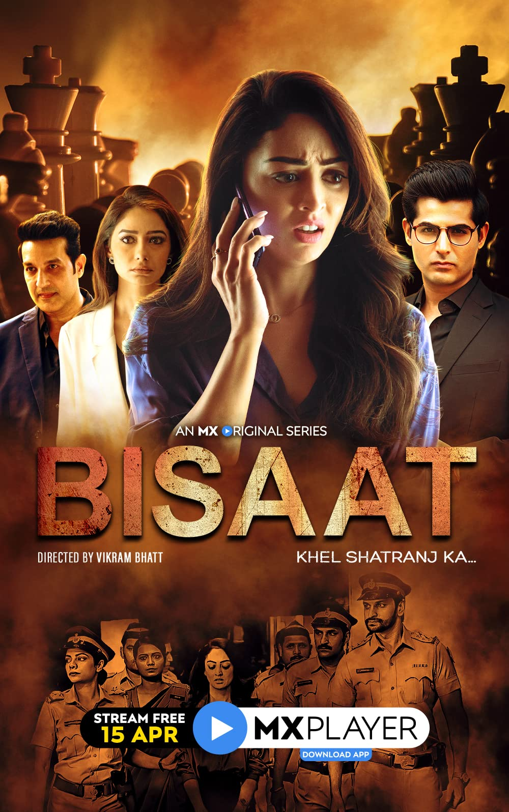 Bisaat: Khel Shatranj Ka 2021 S01 Hindi MX Original Complete Web Series 1080p HDRip 3.3GB x264 AAC