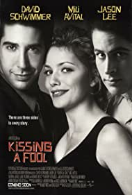 Mili Avital, David Schwimmer, and Jason Lee in Kissing a Fool (1998)
