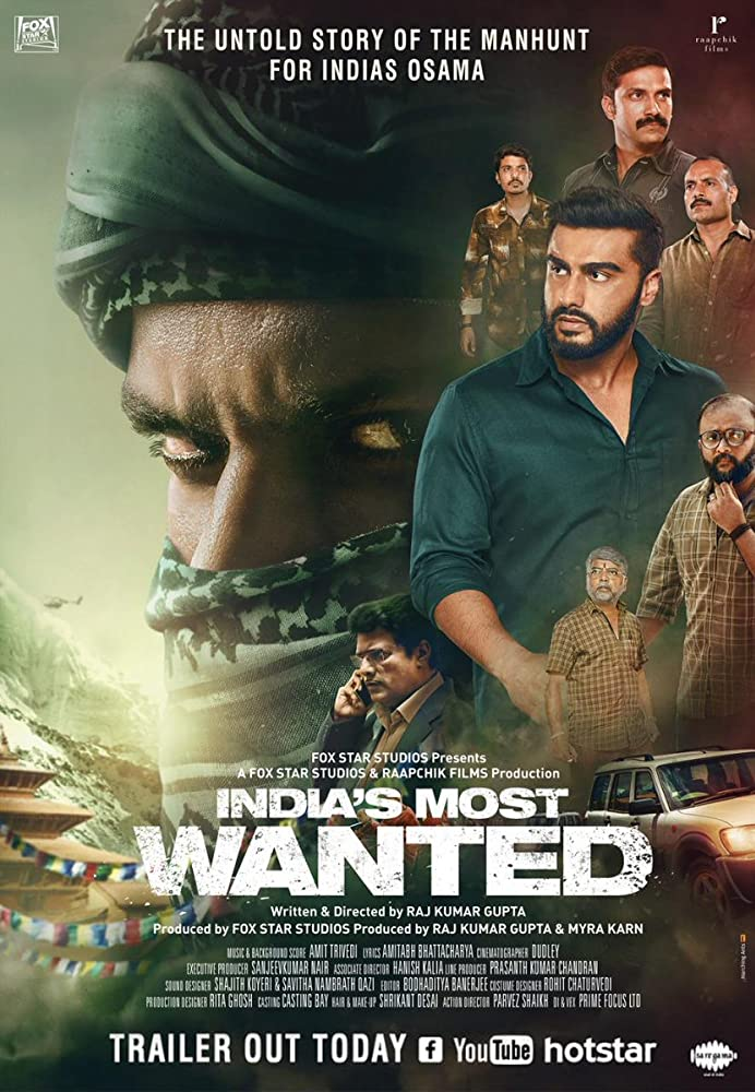 India's Most Wanted (2019) Hindi Full Movie 480p 400MB Proper HDRip ESub Download