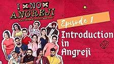 Introducción en Angreji