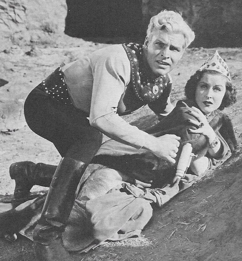 Buster Crabbe and Beatrice Roberts in Flash Gordon's Trip to Mars (1938)
