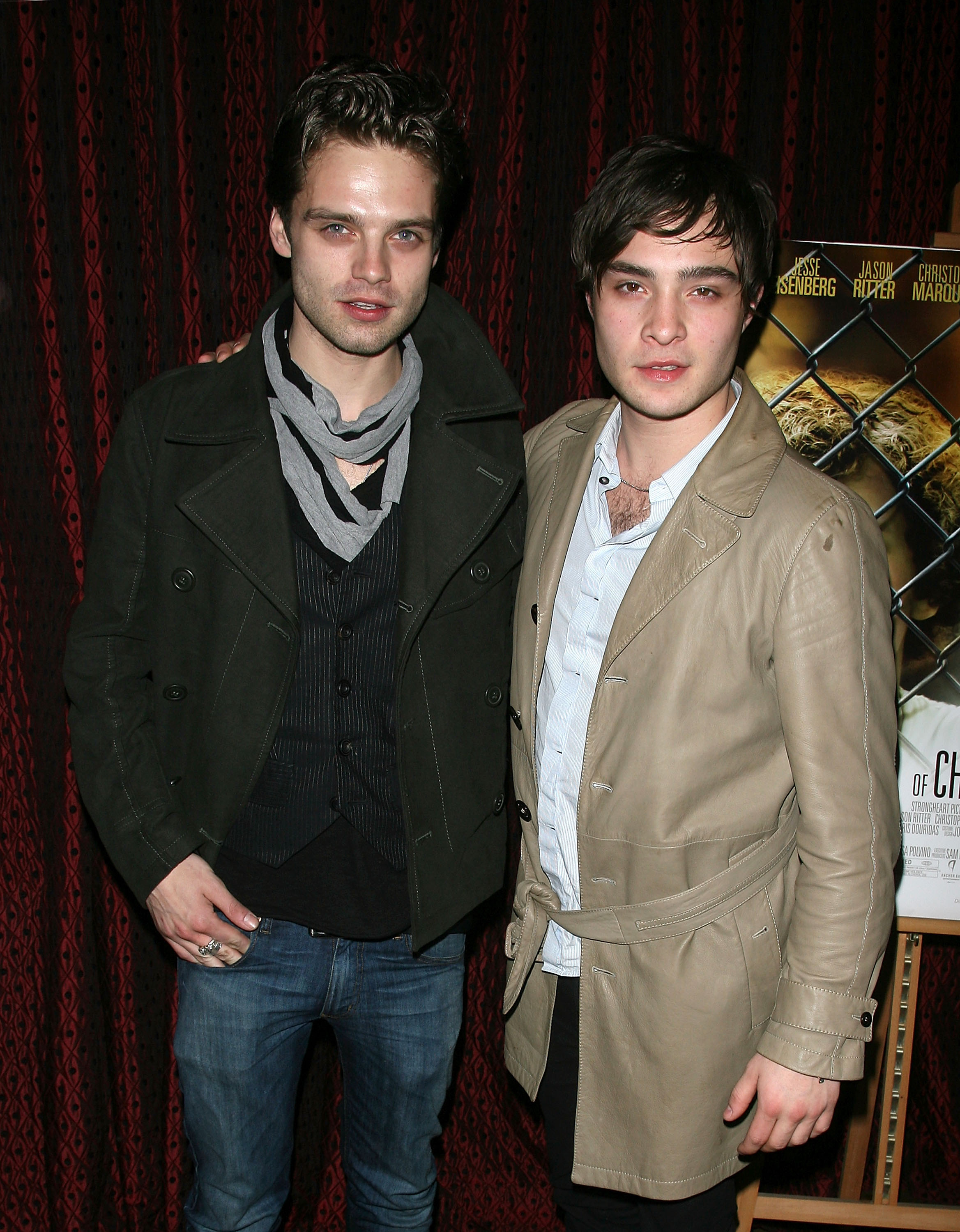 Sebastian Stan and Ed Westwick at an event for The Education of Charlie Banks (2007)