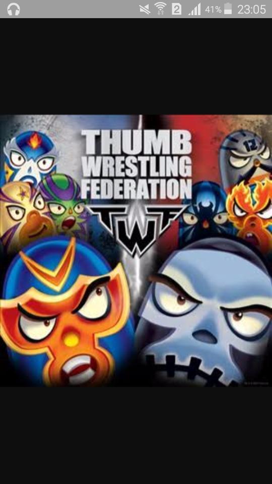 network thumb games Cartoon wrestling