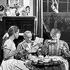 Bibi Andersson, Jullan Kindahl, and Naima Wifstrand in Herr Sleeman kommer (1957)